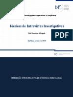 Técnicas de Entrevista Investigativa