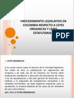 Leyes Organicas y Estatutarias