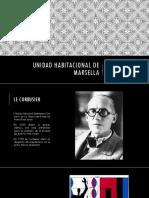 Unidad de Habitacional de Marsella