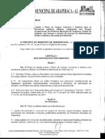 Plano de cargos e carreira de Arapiraca