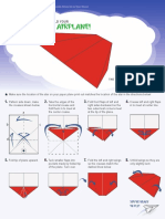 NASM Paper Plane Printout b3p9i3