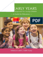 The Early Years Career Development for Young Children Educators Guide October 2017
