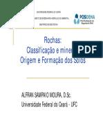 Aula 02 - Tipo de Rochas e Origem e Formação Dos Solos I