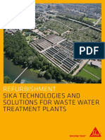 Sika Solutions for Waste Water Treatment Plants Low
