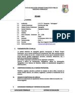 4.- Sílabo - Topografía General