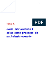 Tema 4 Colas Markovianas 1
