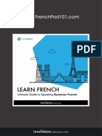 Learn French – Ultimate Guide to Speaking Business French