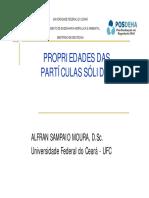 Aula 03 - Propridades Das Partículas Sólidas
