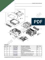 Xpress M2675FN Partes