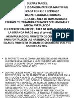 TESTIMONIO DE CLASE 2019.pptx