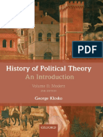 George Klosko - History of Political Theory_ an Introduction_ Volume II_ Modern-Oxford University Press (2013)