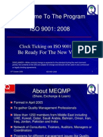 Oct 2008 -IsO 9001-2008-9 Standard by Asim Baig