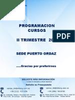 Programacion II Trimestre 2019 PZO1(1)45