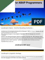 JS for ABAP Part 1
