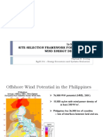 Offshore Site Selection