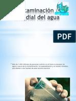 Contaminación Mundial Del Agua