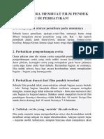 INILAH 6 CARA MEMBUAT FILM PENDEK YANG PERLU DI PERHATIKAN.docx