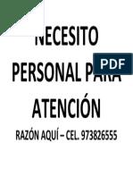 NECESITO PERSONAL PARA ATENCIÓN.docx