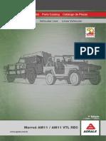 Catálogo de Peças - AM 11 VTL REC