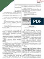 Reglamento Del Régimen de Garantía Mobiliaria (Decreto Supremo Nº 243-2019-EF)
