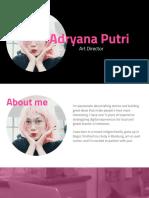 Portfolio Adryana Putri - May 2019