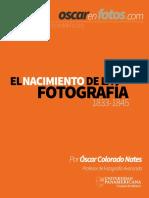 el nacimiento de la fotografia pdf