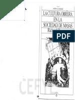 09-019-045 HOGGART - La cultura obrera en la sociedad de masas cap III y XI.pdf