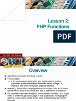 PHP Advanced Series 2 - PHP Functions