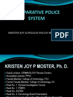 Review-comparative Police System Updated
