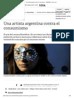 Una Artista Argentina Contra El Consumismo