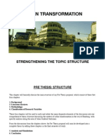 Urban Transformation-Topic Structure