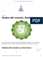 Chakra Del Corazón.