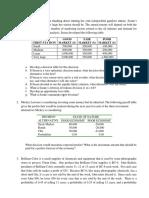 Decision Analysis Exercise