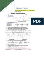 ElectronicsCircuit Analysis Notes pdf.pdf