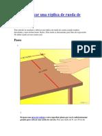 Cómo Fabricar Una Réplica de Rueda de Carreta