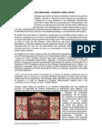 Interculturalidad (Juaquin Lopez Antay)
