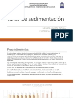 Ppt Sedimentacion