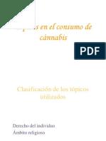 6.Tópicos en El Consumo de Cánnabis