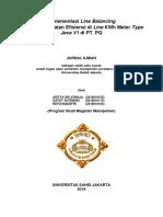 Implementasi Line Balancing Pada Kwh Meter Java v1