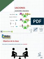 Clase Ecuaciones 6to Básico