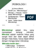 Mata Kulia Mikrobiologi i