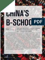 China's B Schools