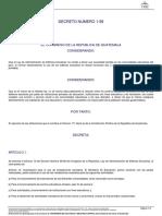 21873 Decreto Del Congreso 1-99