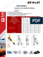 Todo Izaje Tecles Ficha Tecnica Tecle Palanca Lh a Silver Bti Special 1361916