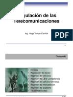 Regulacion Telecomunicaciones Slides