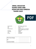 Jurnal Magang Guru