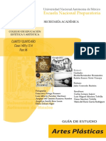Guia de Estudio de Artes Plasticas IV y V