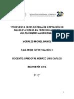 Diseño de Sistema de Captacion de Aguas Pluviales