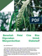 Manfaat Petai Cina Dalam Menurunkan Diabetes
