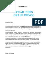 Tanwar Chips Grah Udhyog
